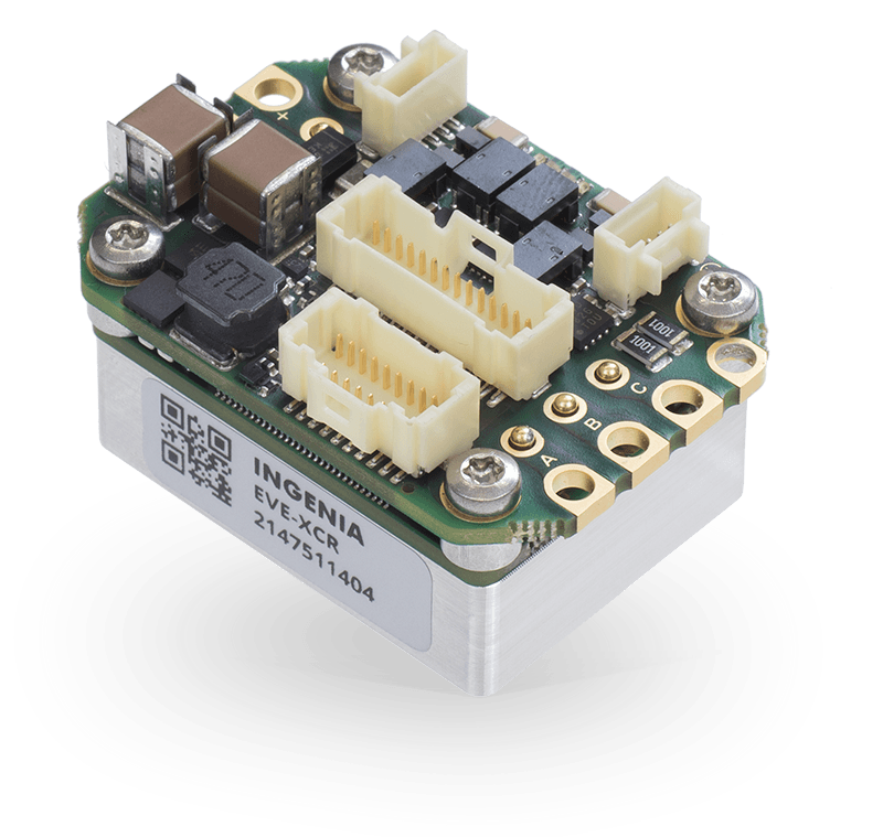 Everest XCR: Miniature, Panel Mount, EtherCAT Servo Drive