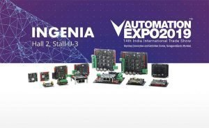 Ingenia at Automation Expo 2019 Mumbai India