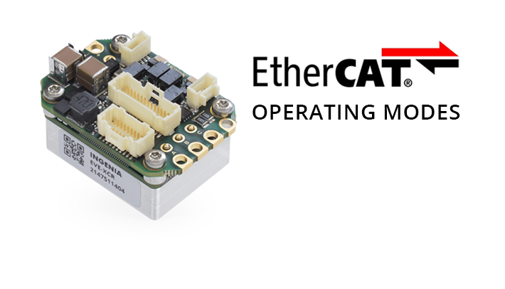 EtherCAT operating modes